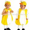 yellow lovely duck unisex halloween children costumes China wholesale Alibaba