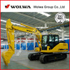 13 ton crawler excavator with imported hydraulic system DLS130-9