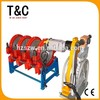 hdpe ppr pvc pe pp pvdf pipe welding machines manual 90-250mm four rings hdpe welding machine price