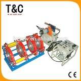 CE passed new condition from 90mm to 250mm hydraulic butt fusion hdpe welding machine price