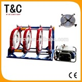 new condition CE ISO9001certification from 400mm to 630mm four clamps hdpe welding machine price