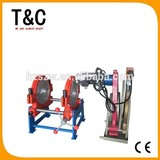 welding machiney from 90mm to 250mm manual two rings hdpe pvc welder polyethylene