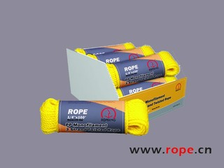 The Leading Brand of Rope Industry in China PP Monofilament 3 Strand Twisted Rope