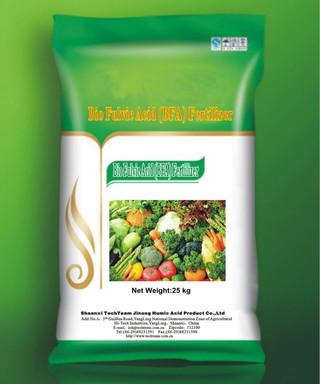 High Content Bio Fulvic Acid (BFA) fertilizer Crops manure