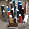 A variety of color profiles or customized color for rigid pvc profile front or back surface
