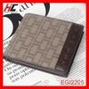 New model men genuine leather Short plaid wallet fashion horizontal Casual teens wallet