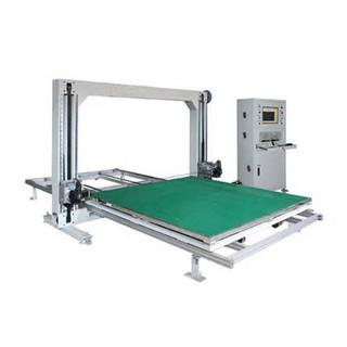 380V Automatic Oscillating Blade Cutter CNC For Sticky / Frame Foam , 50HZ