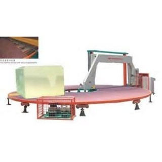 Circle Horizontal Sponge Blade Cutter With Frequency Conversion System