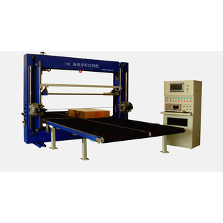 Brake System Sponge Production Line / Oscillating Blade Cutter For Polyurethane Foam