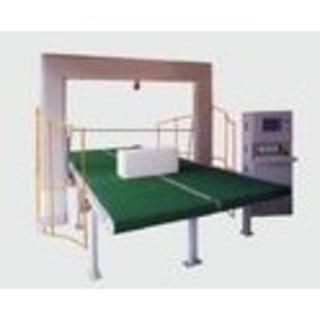 Fully Automatic Rigid PU Foam Cutting Machine For PIR / EVA Foam