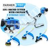 Gasoline Brush Cutter 52cc 2 Stroke Petrol Line Trimmer Hedge Trimmer