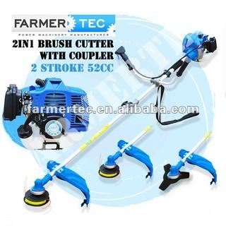 Gasoline Brush Cutter 52cc 2 Stroke Petrol Line Trimmer Hedge Trimmer