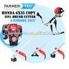 4 Stoke Gasoline Brush Cutter 35cc Honda GX35 Copy Engine