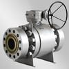 API6D forge steel trunnion ball valve