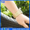 HOCO Stainless Steel 3 Pointerd Golden Watchband for Apple Watch 38mm