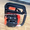 5800 ,58cc chain saw,two hole muffler, red with black color chain saw
