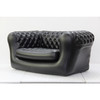 Two seats PVC inflatable chesterfield sofa