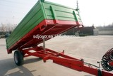 3ton europe style high quality hydraulic tipping trailer