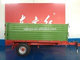 4ton europe style high quality hydraulic tipping trailer