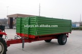 5ton europe style high quality hydraulic tipping trailer