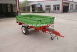1.5ton europe style high quality hydraulic tipping trailer