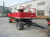 2015 Best selling 10 tons farm SIDE tipping trailer