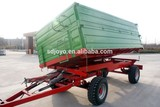 Best selling 8 tons farmTHREE WAY tipping trailer