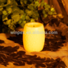 Mini Votive False Wicked Led Candle With Flower Pattern