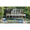 Lake wood villa, gorgeous wood house,prefab house