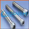 DIN stainless steel astm a490 12.9 bolts and nuts hexagon head