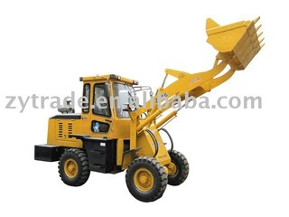 wheel loader 1.6 tons ZL-16 top quality 2 year guarantee lowest price hot sale in 2014