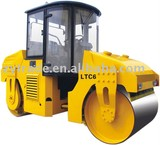 double drum vibratory and oscilating road roller