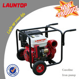 High quality 2inch diesel & gasoline Iron Pump by Launtop single cylinder engine