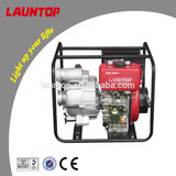 Launtop 3 inch agriculture irrigation water pump LDWT80C with 196cc diesel engine