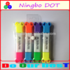 2015hot selling Double tips colorful permanent promotional Highlighter marker logo printed