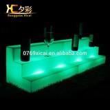 LED Bar Wine Shelf Plastic Holder Luminous Display For Vodka Beer Champagne