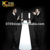 Wonderful Rechargeable Outdoor Waterproof LED Party Furniture cocktail table