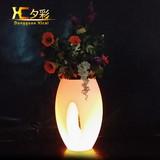LED vividness flower pot led Shine flowerpot