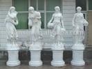four seasons god marble statue