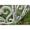 New design garden fence panels by plastic material