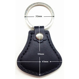 RFID Leather key fob