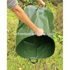 HDPE woven Material and Laminated Finishing plastic planter bags