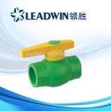 PPR Plastic Ball Valve with Long Type Handle