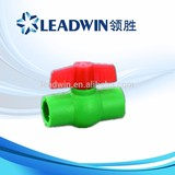 PPR Plastic Ball Valve Butterfly Handle