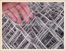 Guang Zhou galvanized chain link fence( diamond wire mesh), PVC Coated Chain Link Fence