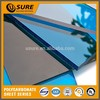 UV protected 10 years guarantee ge lexan polycarbonate solid sheet