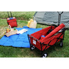High Quality Folding Wagon with Double-Layer basket