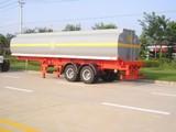 2 axle 20 feet skeletal container semi trailer/ skeleton truck tow semitrailer 40 ton for Angola\Congo