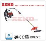 CE GS Certified 41cc gasoline backpack brush cutter