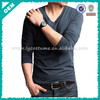 Wholesale High Quality 100% Cotton V-Neck T shirts for Men(lyt050003)